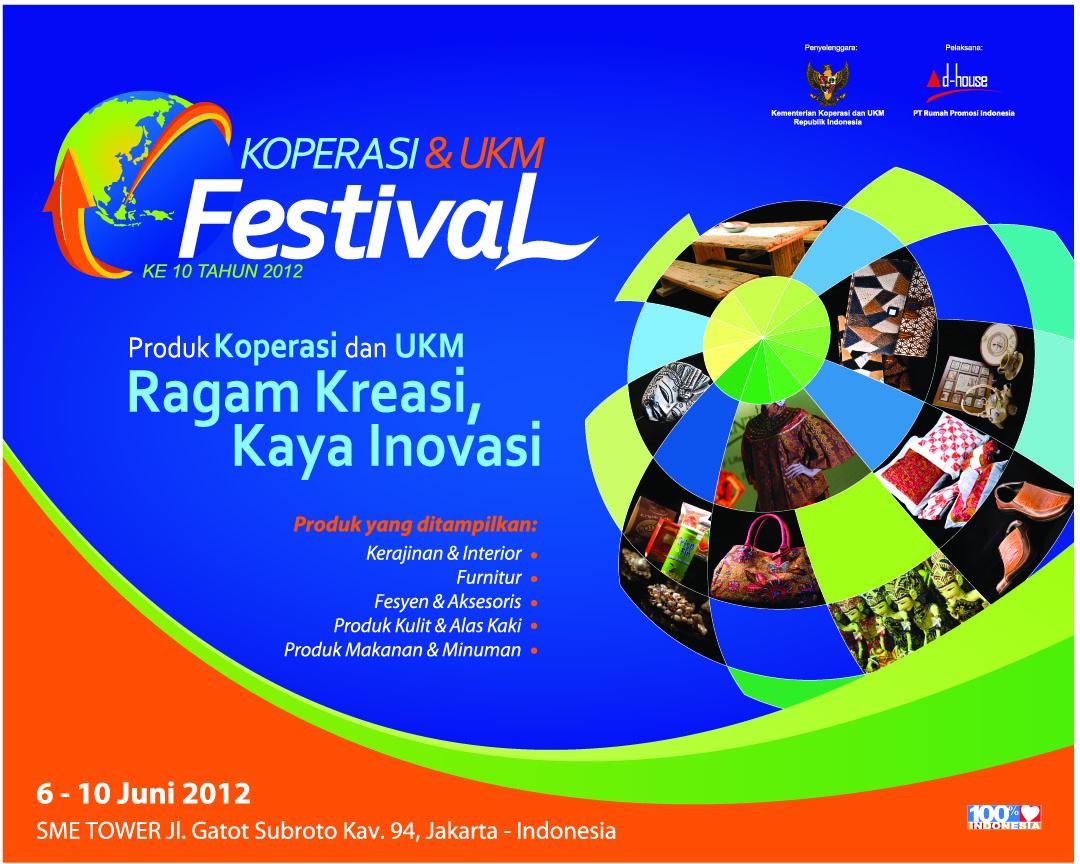 Koperasi dan UKM Festival ke-10 Tahun 2012
