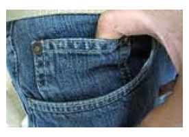 Sejarah Kantong Kecil di Celana Jeans