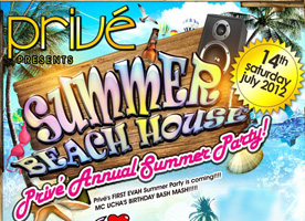 Summer Beach House Party @ Prive Club
