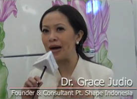 LG Home Sweet Home Exhibition - Interview with Dr Grace - Founder & Consultant of PT.Shape Indonesia