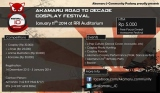Akamaru Road to Decade Cosplay Festival