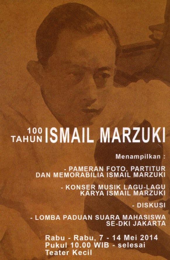 100 tahun ismail marzuki pic