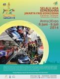 Jakarta Fair Kemayoran 6 June - 6 Juli 2014