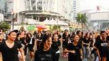 Parade Flashmob JKTMoveIn carfree day