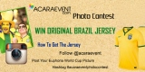 Acaraevent Photo Contest dan Menangkan Original Brazil Jersey!