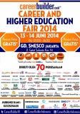 Career And Higher Education Fair 2014 jakarta
