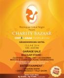 Charity bazaar garage sale PUN 2014