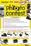 Denon Photo Contest - Total Hadiah 14 Juta 2014
