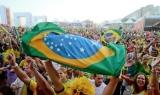 Fan Fest Piala Dunia 2014 brasil