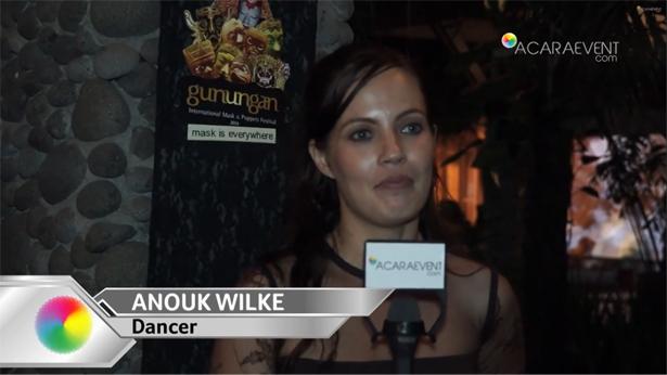 Interview Dengan Anouk Wilke gunungan Festival 2014