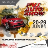 Paris Van Java Auto Show Bandung 2014 juni