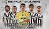 Laga ISL All Stars VS Juventus FC 2014