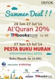 Promo Buku Murah di Depok Town Square 2014