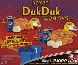 Promo KFC Kombo Duk Duk 2014
