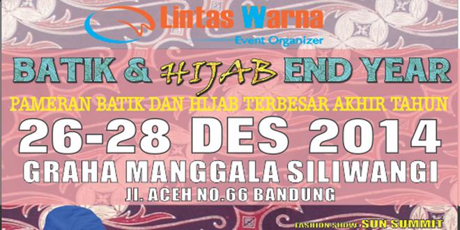 Batik and Hijab End Year Bandung