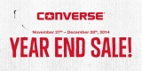 Promo Year End Sale! Up to 50% Persembahan Converse