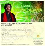 Copacabana New Year's Countdown with Ari Lasso