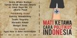 Perhelatan Komedi 'Mati Ketawa Cara Politikus Indonesia'