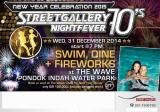 New Year Celebration 2015 'Street Gallery 70's NightFever'
