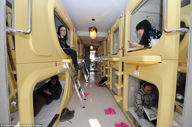 The Space Capsule Hotel