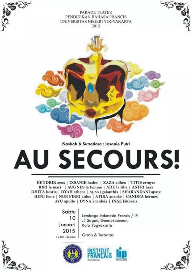 Parade Teater 'Au Secours' Yogyakarta