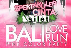 Bali Love Run 2015, Pink Color Party