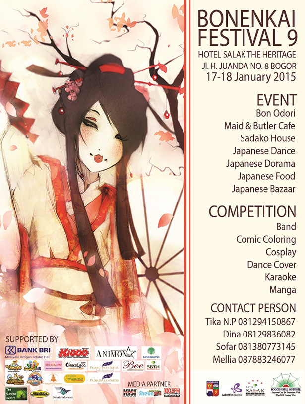 Bonenkai Japanese Festival ke 9