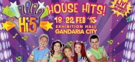 Hi-5 House Hits Live in Concert at Gandaria City