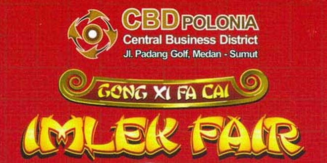 Gebyar Imlek Fair 2015 di Medan