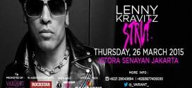Lenny Kravitz Strut World Tour Live in Jakarta 2015