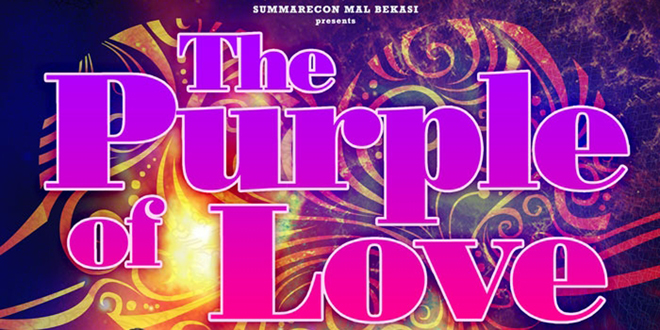 The Purple of Love – Summarecon Mal Bekasi Menghadirkan Ungu Band