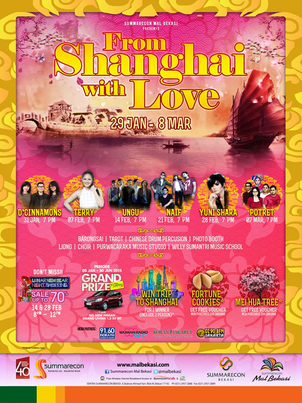 From Shanghai with Love at Summarecon Mal Bekasi