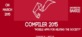 "COMPILER 2015 ""Mobile Apps for Helping The Society"""