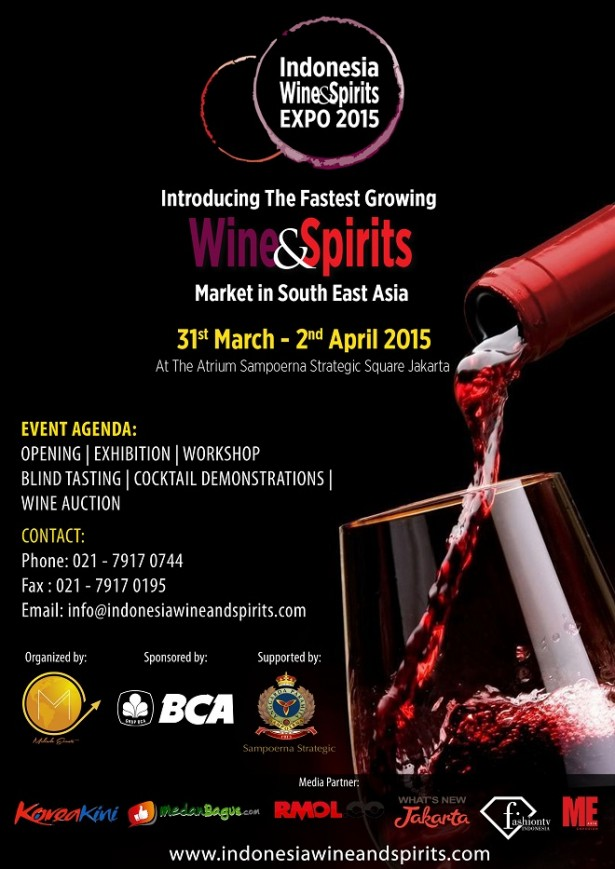 Indonesia Wine Spirit Expo 2015