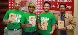 """Peluncuran buku """"7 Resep Rahasia Bisnis Kuliner"""" dan produk baru """"Nasi Lemak Hijau"""""""