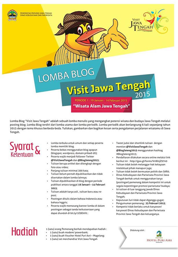 Lomba Blog Visit Jawa Tengah 2