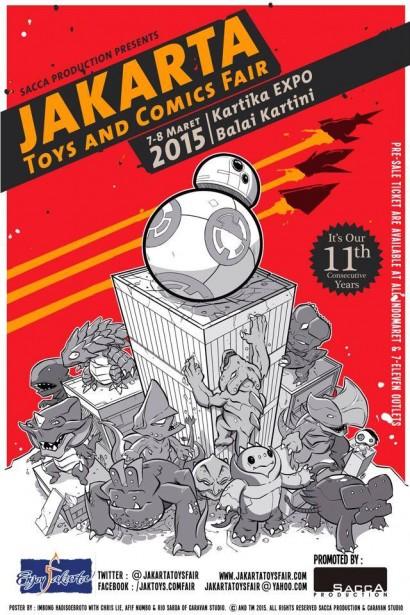 The Jakarta Toys & Comics Fair 2015