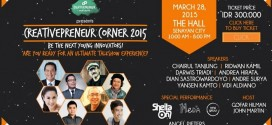 Fullday Talkshow Dalam Creativepreneur Corner 2015