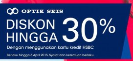 Diskon Optik Seis Sampai 6 April 2015