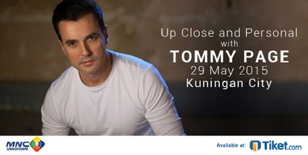 Tommy Page Live In Concert
