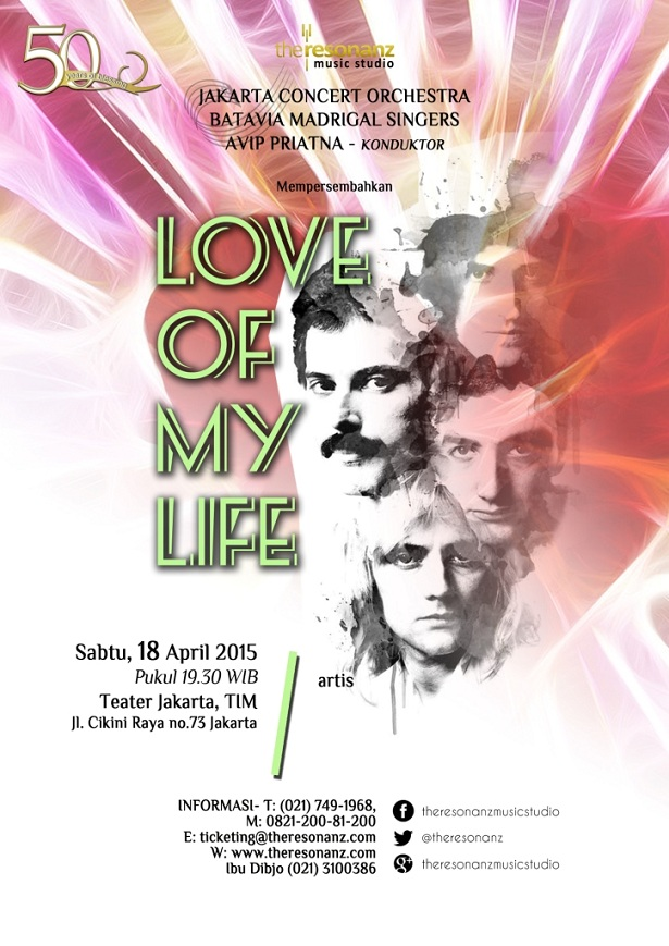 Love of My Life Concert