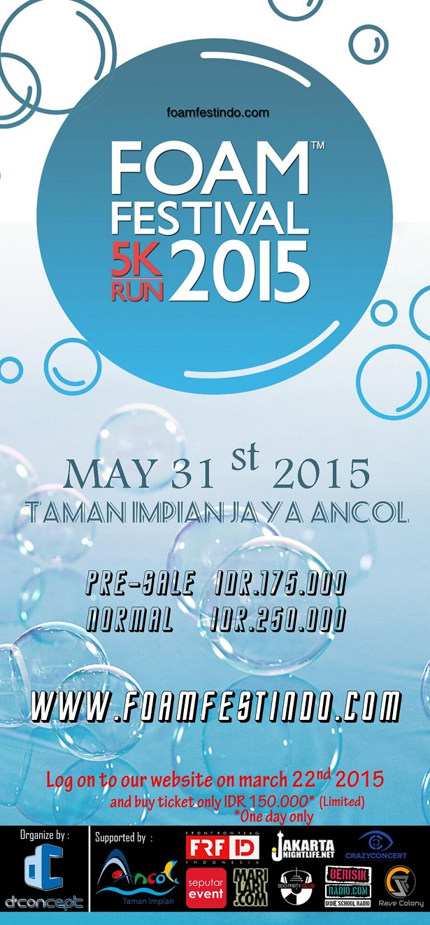 Foam Festival Indonesia 2015