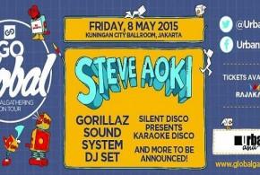 Steve Aoki Hadir di Go Global: Global Gathering On Tour 2015