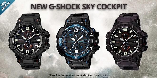 G-Shock Sky Cockpit Hadir Dalam Balutan Gaya Militer