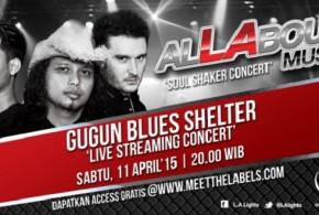 Gugun Blues Shelter Konser Perdana di Malang