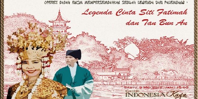 Legenda Cinta Siti Fatimah dan Tan Bun An
