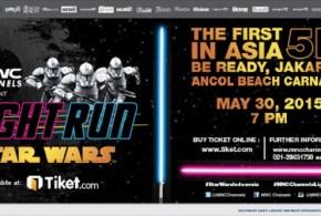 Star Wars Hadir di Light Run MNC Channels
