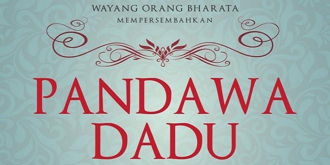 Wayang Orang Bharata - Pandawa Dadu