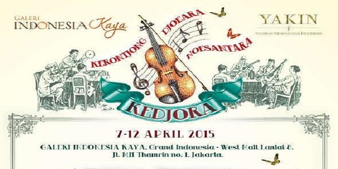 Festival Musik Keroncong Hadir di Galeri Indonesia Kaya