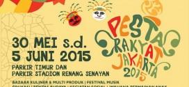 Sambut Ulang Tahun Jakarta dalam Pesta Rakyat Jakarta 2015